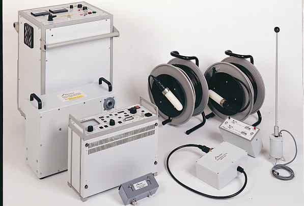 Cable Locators And Fault Finders : Hv cable fault locator boxxer test equipment invirotech